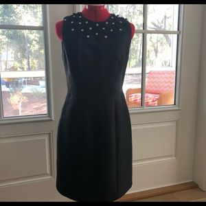 Milly Ultimate Little Black Dress Silk EUC 6 Chic